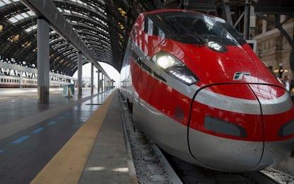 Treni alta velocità Roma-Napoli in ritardo per un guasto sulla linea