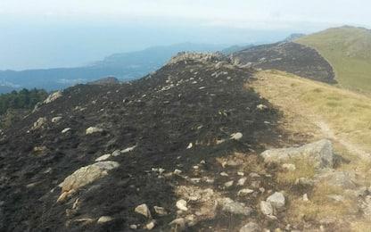 Incendi, in Liguria bruciati 200 ettari nel parco del Beigua