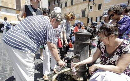 Zingaretti: a Roma sta finendo l'acqua. Acea annuncia razionamenti