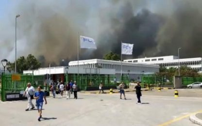 Incendi Molise, evacuato stabilimento Fiat di Termoli