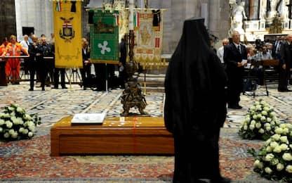 I funerali del cardinale Tettamanzi