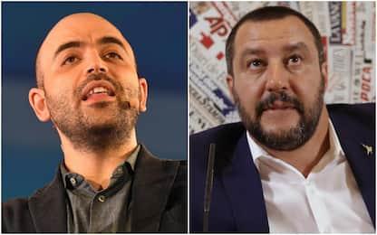 Migranti, Salvini querela Saviano. Lo scrittore: non mi fai paura