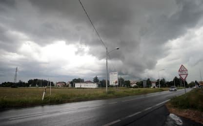 Maltempo Livorno, tromba d'aria a Rosignano: 3 feriti e danni ingenti