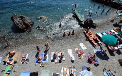 Estate record per il turismo, giro d'affari da 22 miliardi