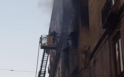 Cosenza, rogo in un appartamento del centro: tre morti