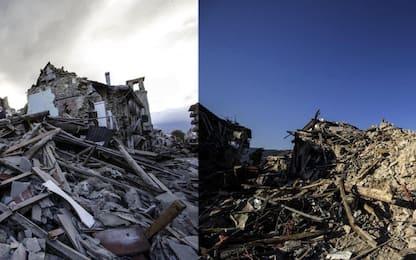 Amatrice un anno dopo sisma 24 agosto