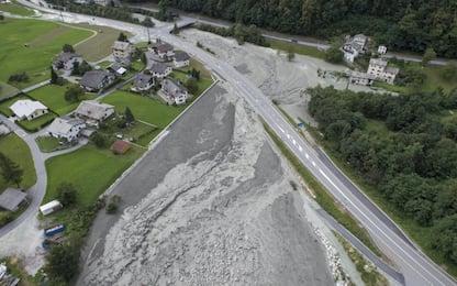 Svizzera, frana al confine con l'Italia: dispersi 14 escursionisti