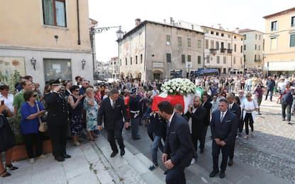 Attacco Barcellona, funerali Luca Russo
