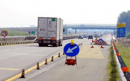 Contromano sull'autostrada A2, due morti nel Salernitano