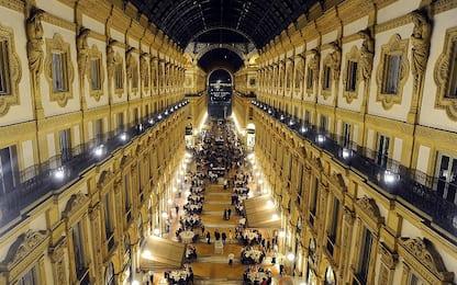 Cena in Galleria Vittorio Emanuele II