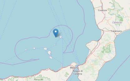 Terremoto, scossa di magnitudo 3.7 al largo delle isole Eolie
