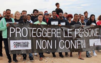 Lampedusa quattro anni dopo il naufragio: il ricordo delle 368 vittime