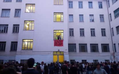 Roma, sgombero liceo occupato Virgilio in centro città