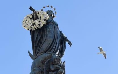Torre del Greco, la processione per l'Immacolata interrotta a metà