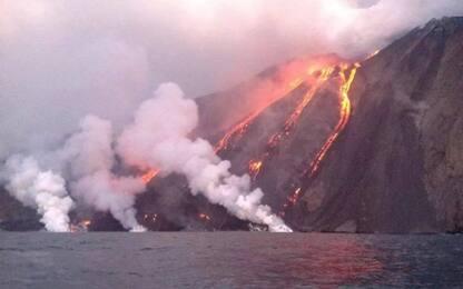 """Stromboli sotto osservazione, per il vulcano è ancora """"allerta gialla"""""""