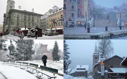 Maltempo in Italia, ancora neve e gelo
