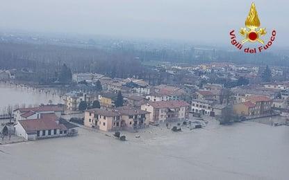 """Maltempo, gli abitanti di Lentigione: """"Non siamo stati avvertiti"""""""
