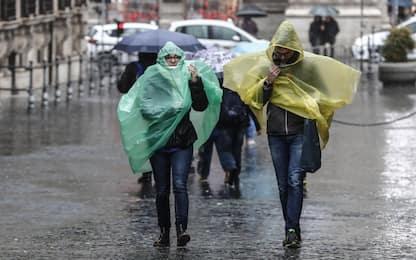 Maltempo sull'Italia: pioggia, vento e mareggiate