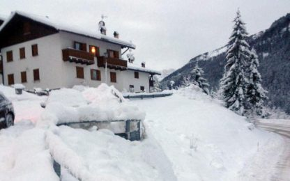 Maltempo: allerta neve in Lombardia, valanga sulle Dolomiti