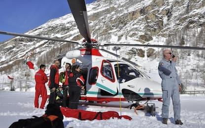 Valle d'Aosta, pericolo valanghe: chiusa la Val Ferret