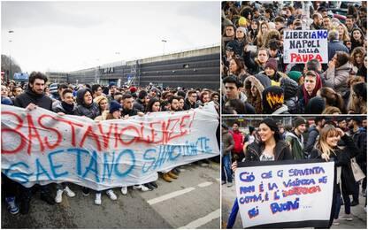 In migliaia per le strade di Napoli contro la violenza delle baby gang