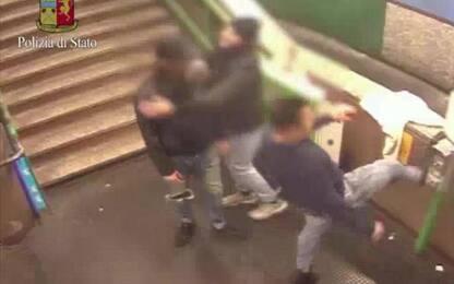 Baby gang a Milano devasta metro: 6 minori denunciati
