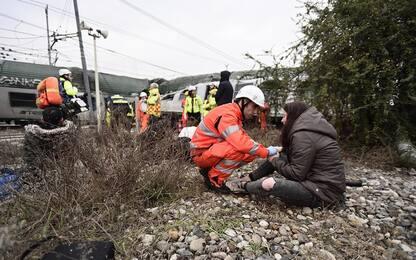 """Treno deragliato, madre vittima: """"Le ho detto scappa, poi il silenzio"""""""