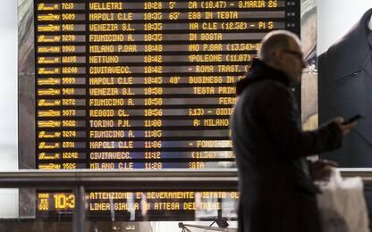 Treno esce da binari a Roma Termini: nessun ferito ma disagi e ritardi