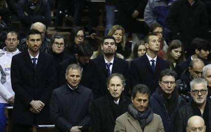 Da Maldini a Baresi, tanti ex azzurri ai funerali di Azeglio Vicini
