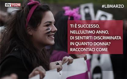 #L8marzo: discriminazioni, molestie, violenza: le vostre testimonianze