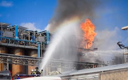 Esplosione in azienda di Bulgarograsso
