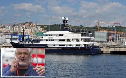 Ecclestone acquista lo yacht Force Blue sequestrato a Briatore