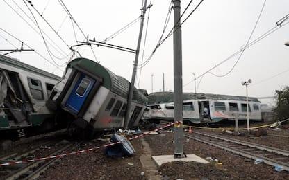 Treno deragliato a Pioltello: focus delle indagini su manutenzione
