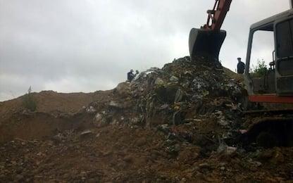 Padula, sequestrata discarica di rifiuti speciali