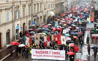 Manifestazione antirazzista e antifascista: Macerata torna in piazza