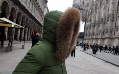 Il meteo del weekend di Santo Stefano: freddo, neve e venti forti