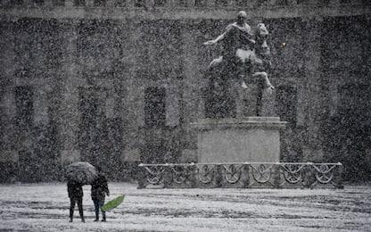 Allerta meteo in Campania, prevista neve dal 3 gennaio