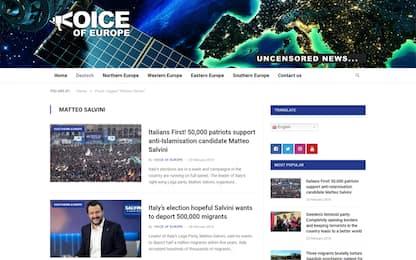 Siti, account e bot: il network internazionale che sostiene Salvini