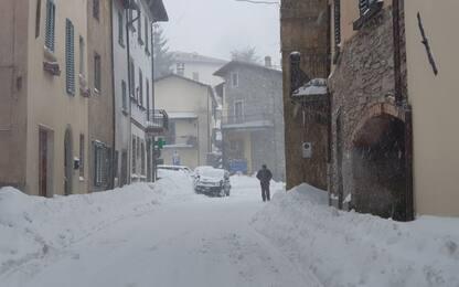 Maltempo, finita allerta a Roma ma nevica su gran parte d'Italia