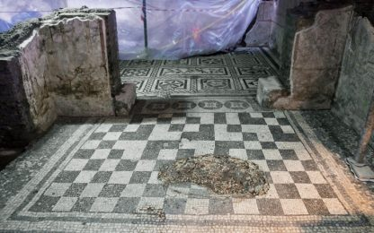 Roma, scavi metro C svelano una domus