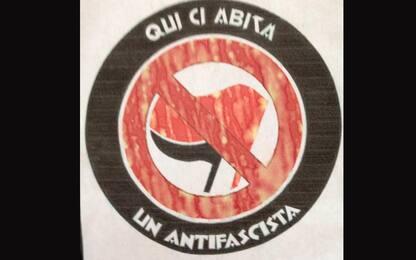 Pavia, marchiate case di decine di antifascisti