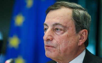 """Draghi: """"Lo spread sta danneggiando le banche"""""""