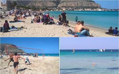 Palermo, già tempo di mare a Mondello