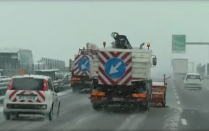 Maltempo, sull'Italia nuova ondata di gelo e neve dalla Russia
