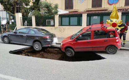 A Roma 90 voragini l'anno, in 250mila sono a rischio frane