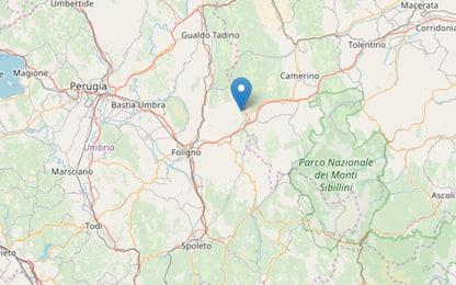 Terremoto, scossa di magnitudo 3.4 tra Macerata e Perugia