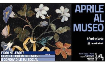 Mibact, omaggio alla primavera con la campagna social #fiorinellarte