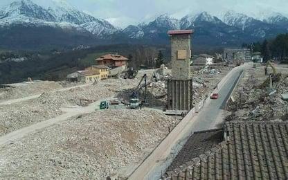 Amatrice riapre corso Umberto I, simbolo della lotta al sisma