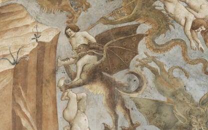 """Pisa, completato il restauro del """"Trionfo della morte"""" di Buffalmacco"""