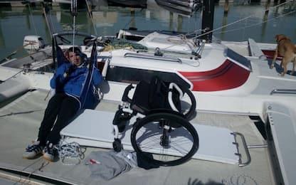 """Vela, Rossato: """"Io, disabile, circumnavigherò l'Italia in solitaria"""""""